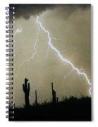 Az Desert Storm Spiral Notebook
