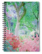 Azalea Flowers And Tree Coral  Spiral Notebook