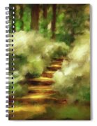 Azalea Stairs Spiral Notebook