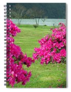 Azaleas At The Azores Spiral Notebook