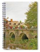 Azay Le Rideau Bridge, Boys Fishing Spiral Notebook