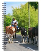 Azorean Farmer Spiral Notebook