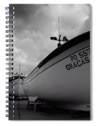 Azorean Fishing Boats Spiral Notebook