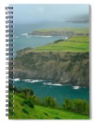 Azores Coastal Landscape Spiral Notebook