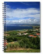 Azores Islands Landscape Spiral Notebook