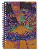 Aztec Abstract Spiral Notebook