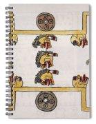 Aztec Ball Game Spiral Notebook