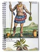 Aztec: Chocolate, 1685 Spiral Notebook