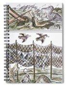Aztec Fishermen Spiral Notebook