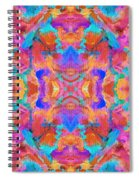 Aztec Kaleidoscope - Pattern 015 Spiral Notebook