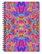 Aztec Kaleidoscope - Pattern 030 Spiral Notebook