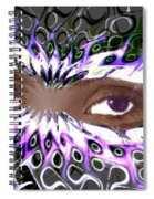 Aztec Mask Spiral Notebook