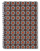 Azulejos Magic Pattern - 04 Spiral Notebook