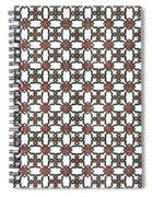 Azulejos Magic Pattern - 06 Spiral Notebook