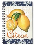 Azure Lemon 2 Spiral Notebook