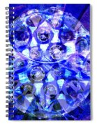 Azure Orb Of Midas Spiral Notebook
