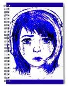 Azurite Spiral Notebook