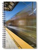 Azusa Downtown Metro Station Spiral Notebook