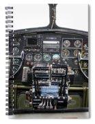 B-17 Cockpit Spiral Notebook