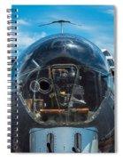 B 17 Snout Spiral Notebook
