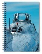 B 17 Spine Spiral Notebook