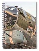 B-17 Texas Raiders Spiral Notebook