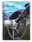 B-25 Engine Spiral Notebook