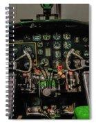 B-25 Mitchell Cockpit Spiral Notebook