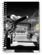 B-25 Mitchell Infrared Spiral Notebook