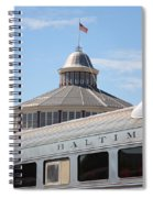 B And O Railroad Museum In Baltimore Maryland Spiral Notebook