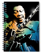 B B King Spiral Notebook
