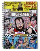 B Movie Spiral Notebook