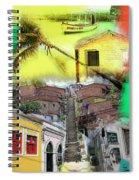 Recife Colors Spiral Notebook
