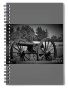 B W Canon Gettysburg Spiral Notebook