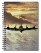 B17 Dawn Spiral Notebook