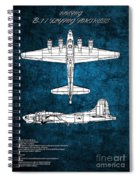 B17 Flying Fortress Spiral Notebook