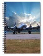 B17 Landing Spiral Notebook