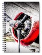 B25 Abstract Spiral Notebook