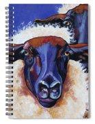 Ba Ba Black Sheep Spiral Notebook