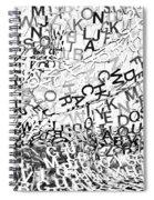 Babble Spiral Notebook