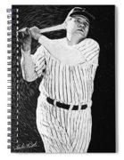 Babe Ruth Spiral Notebook