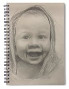Baby 2 Portrait Spiral Notebook