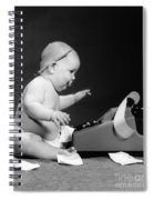 Baby Accountant Spiral Notebook