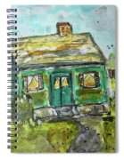 Baby Bungalow Spiral Notebook