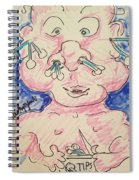 Baby Care Spiral Notebook