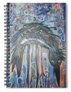 Baby Crow11 Spiral Notebook