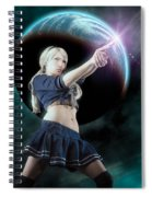 Baby Doll Shoots Back Spiral Notebook