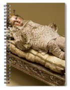 Baby Jesus In Lace Spiral Notebook