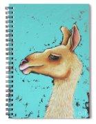 Baby Llama Spiral Notebook