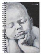 Baby Nap Spiral Notebook